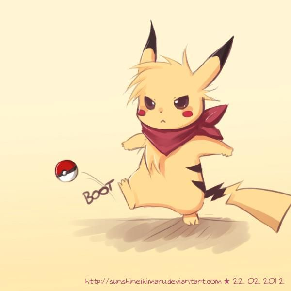 Pika!!  Super cute <3~~