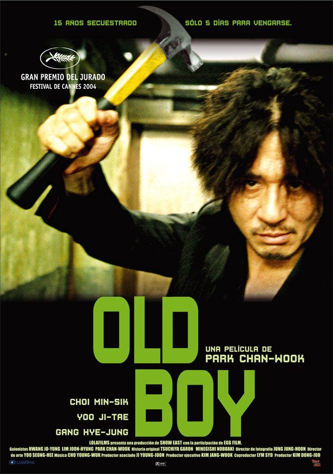 Oldboy (2003) Corea do Sur. Dir: Park Chan-Wook. Suspense. Películas de  culto - DVD CINE 258 | Películas de acción, Peliculas, Peliculas divertidas