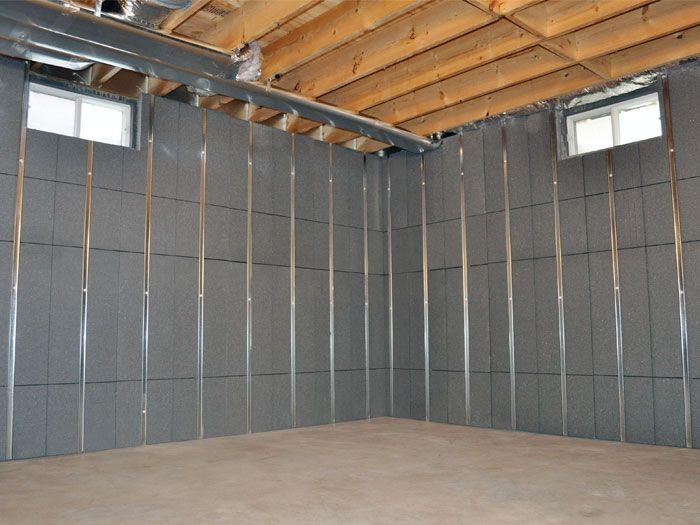 Basement To Beautiful Insulated Wall Panels In Wilmington Philadelphia Baltimore Ino Basement Finishing Systems Framing Basement Walls Basement Wall Panels