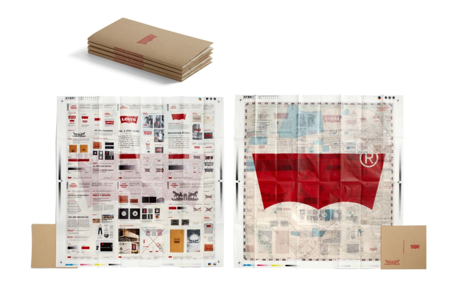 Levi S Brand Standards Map Brand Book Design Competitions Brand Guidelines