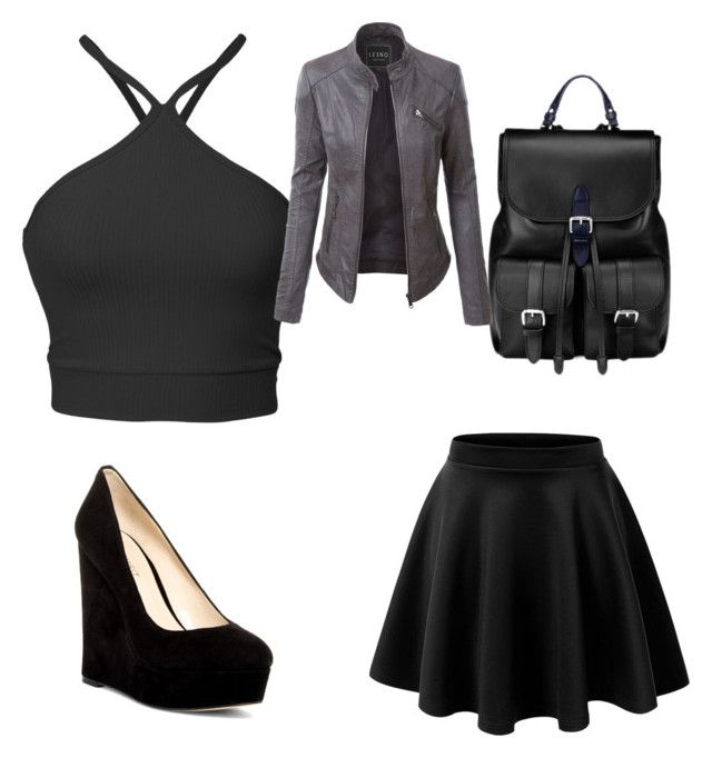 """Untitled #110"" by cicizilla136 on Polyvore featuring Nine West, Aspinal of London and LE3NO"