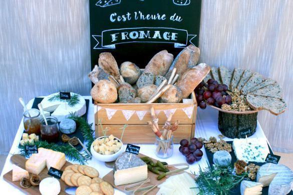 bar fromages une ide de buffet originale guinguette - Idee De Buffet