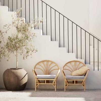 Les 10 plus jolis fauteuils en rotin   Meubles fe3bdc0ef34b