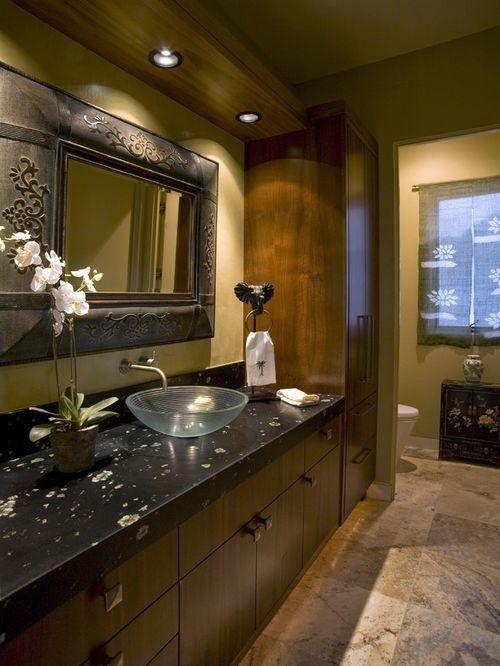 Exemple d\u0027une salle de bain montagne avec une vasque projects
