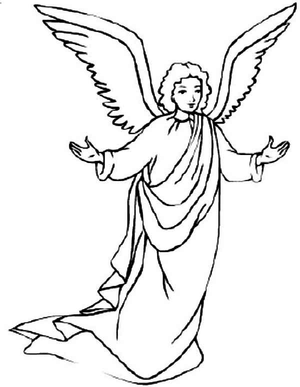 Pin By Jesse Rivas On Angles Angel Coloring Pages Angel Pictures Coloring Pages