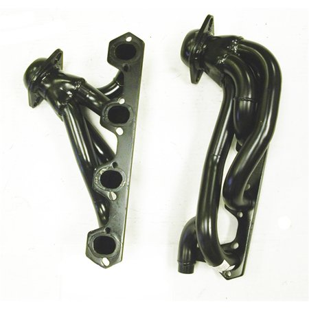 Pacesetter Shorty Header 70 1323 Carb Compliant Black Performance Exhaust Exhausted Header