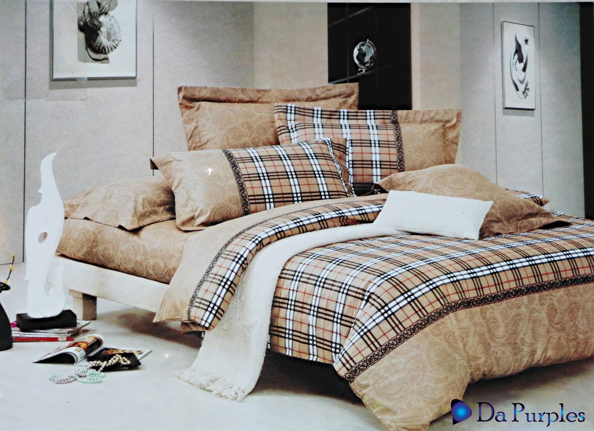Burberry Bed Set
