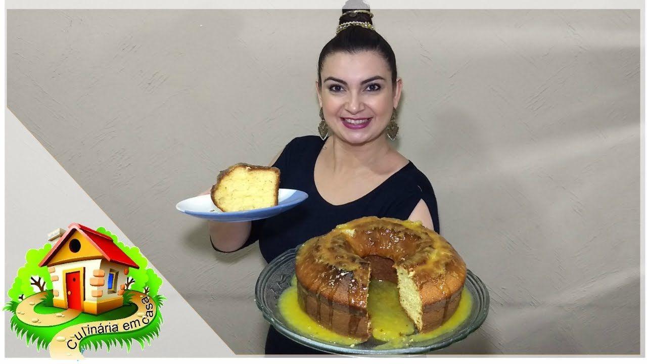 BOLO DE LARANJA COM CASCA E BAGAÇO - Culinária em Casa