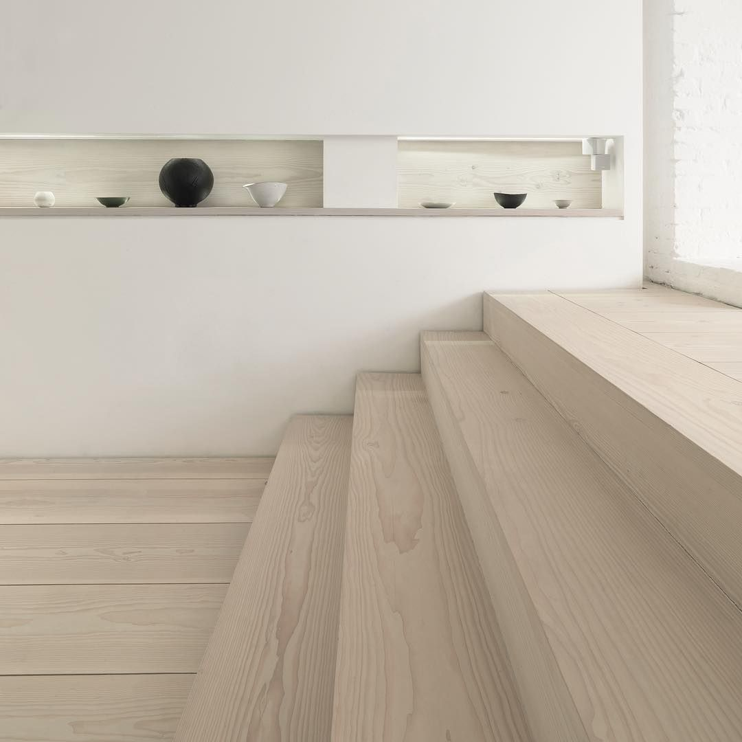 Wide Plank Stair Treads   Douglas By Dinesen