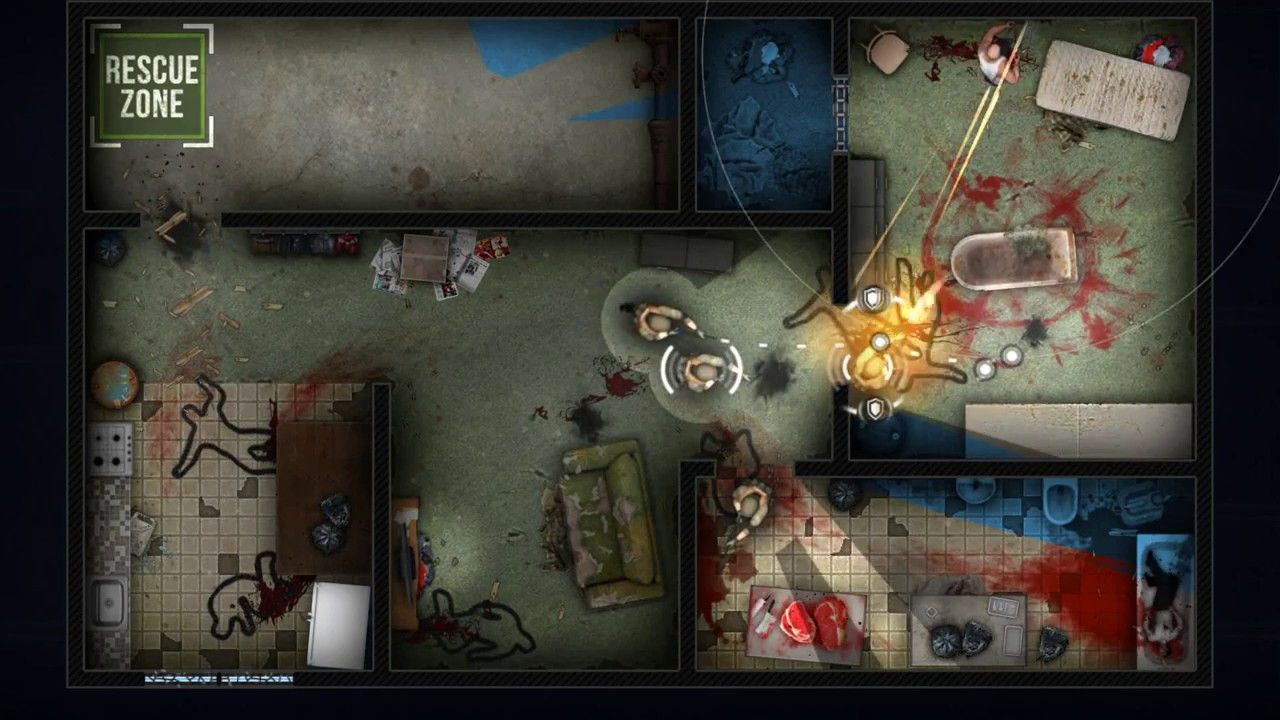 I'd a strategy game called Door Kickers. Great