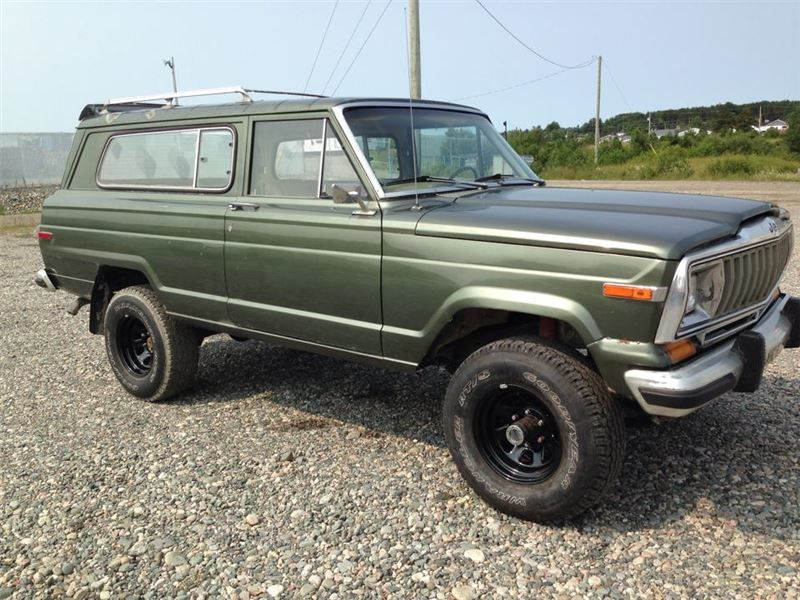 """Sport Utility 1982 Jeep Cherokee in BARRAUTE, QC 2,000"""
