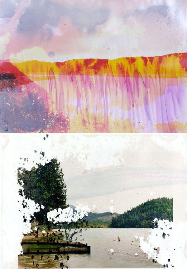 Matthew Brandt. Photo+colour.