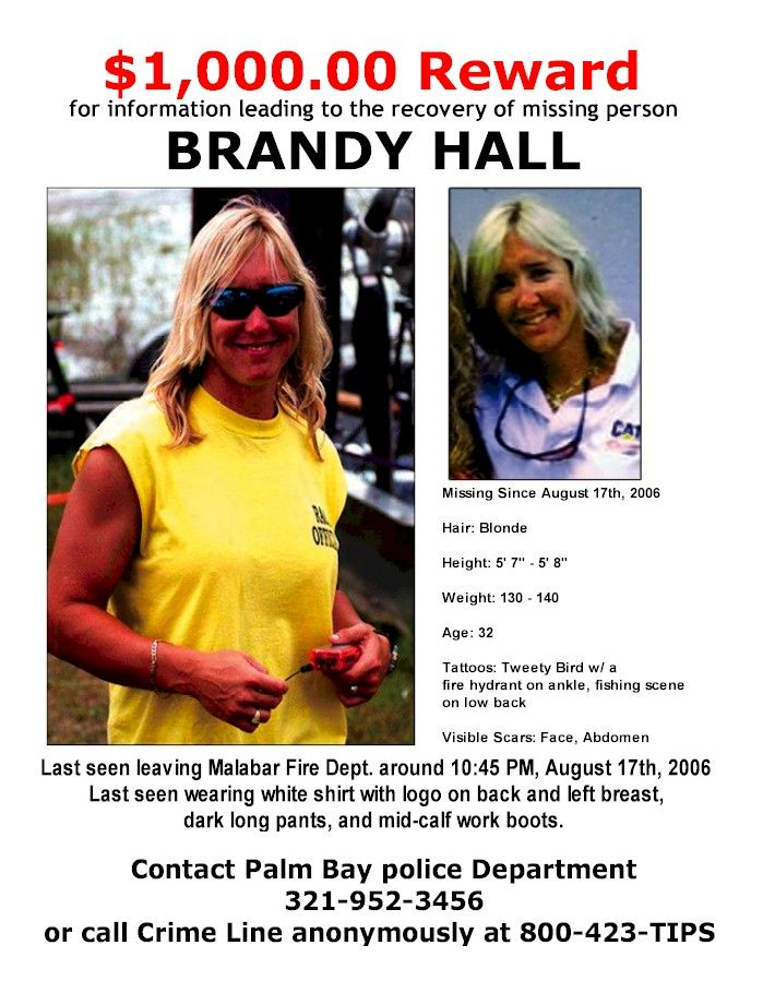 Brandy Hall Palm Bay Fl Brandy Hall Is A 32 Year Old Mother Of Two And A Well Liked And Dedicated Fire Fighter She Has Be Palm Bay Florida Palm Bay Brandy
