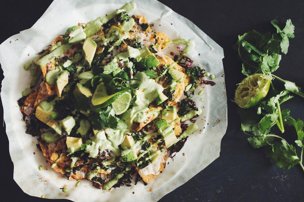 Mean Green Vegan Nachos Hot For Food By Lauren Toyota Recipe Vegan Nachos Avocado Recipes Vegan Youtubers