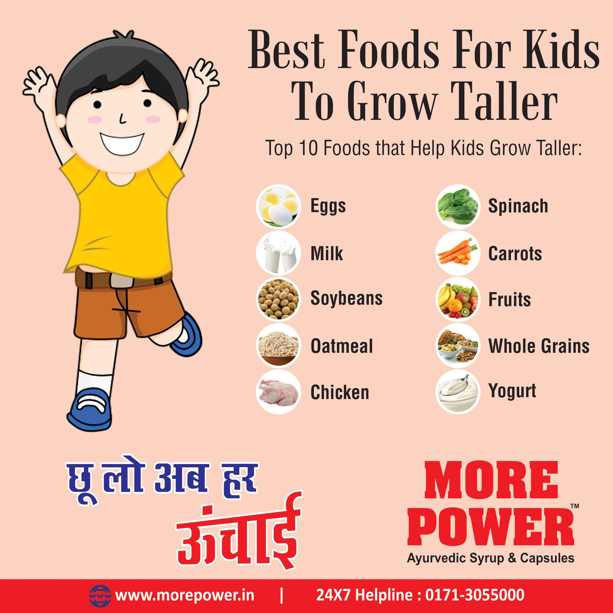 What Are The Best Foods To Eat To Get Taller