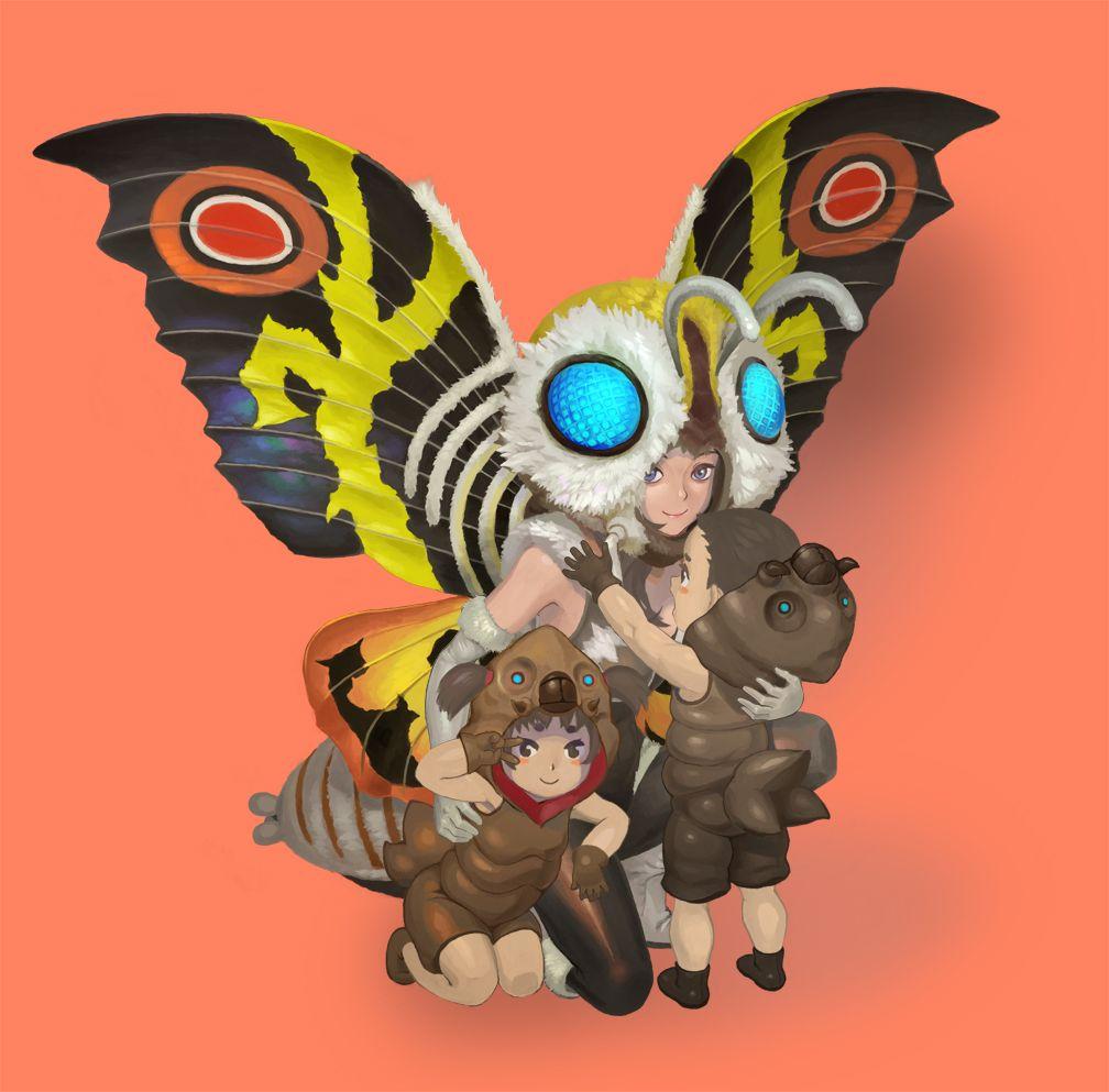 Mothra By Urasato Deviantart Com On Deviantart Kaiju Art Kaiju