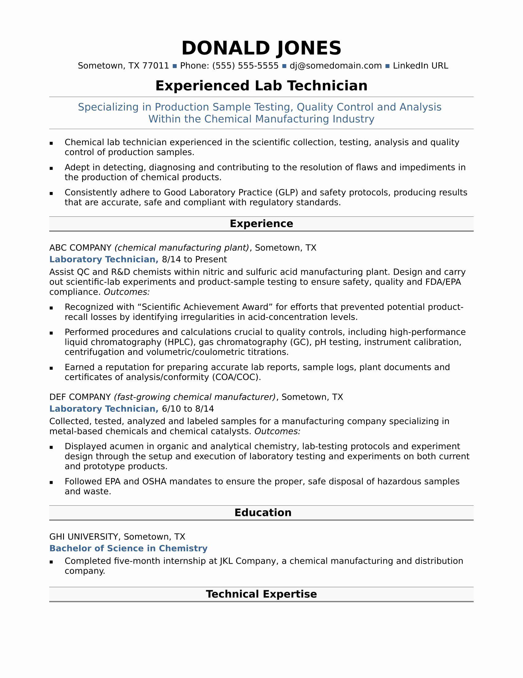 Lab assistant Job Description Resume Fresh Midlevel Lab