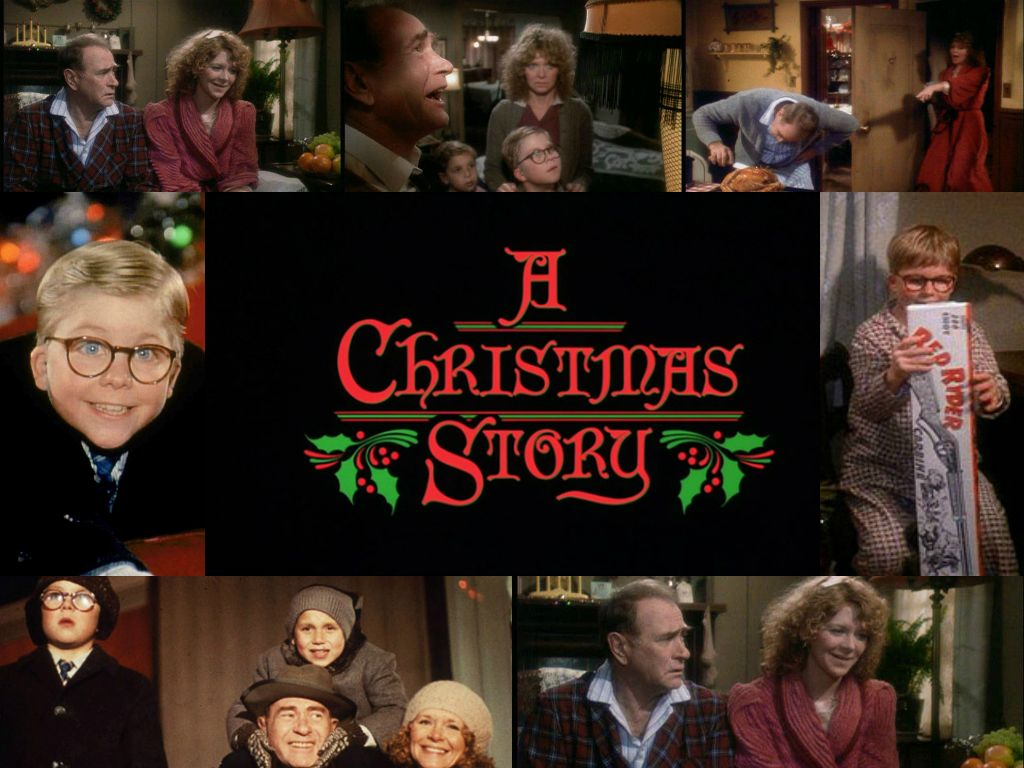 A classic collage of A Christmas Story (1983) Classic
