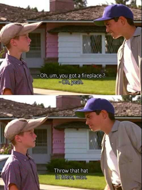 Thesandlot 1993 Benny The Jet Rodriguez The Sandlot Favorite Movie Quotes