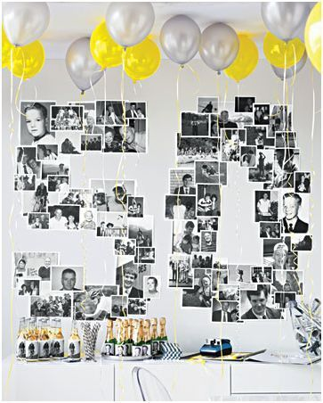 decorar una fiesta de cumpleaños adulto Ideas Pinterest