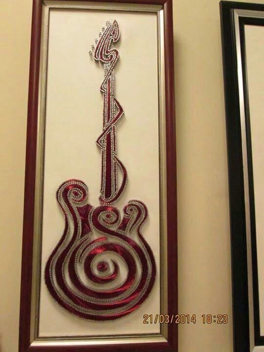 Pin By Filografi Canavar On Mzik Pinterest String Art Craft