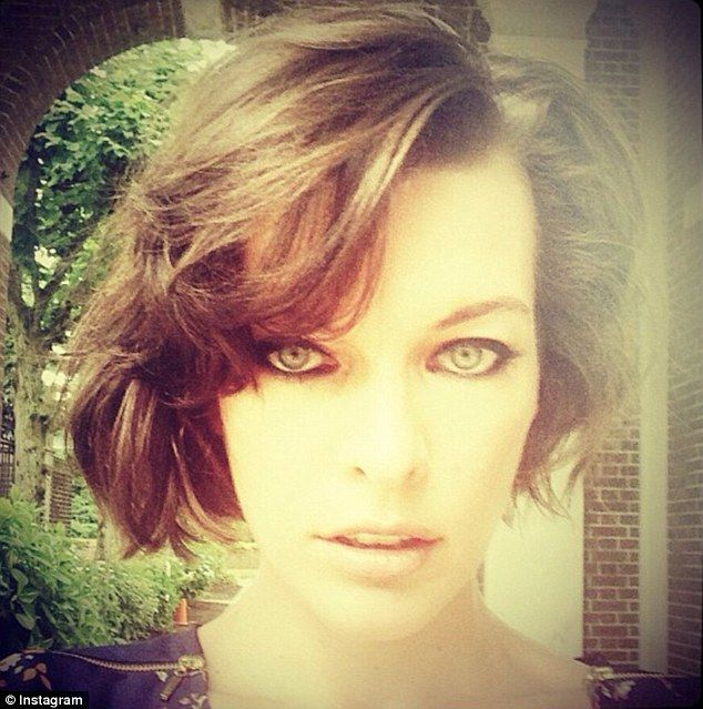 Milla Jovovich Makes The Cut As She Proudly Tweets Snaps Of New