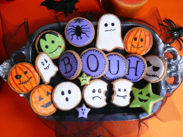 Sablés Halloween décorés