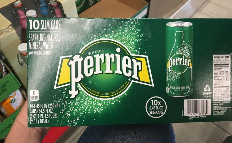 30Pack Perrier Lime Mineral Water, as Low as 11.58 on
