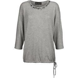 Photo of Amy Vermont, Shirt mit dekorativen Perlen, grau Amy Vermont