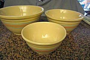 McCoy Stonecraft mixing bowl set for sale at More Than McCoy on TIAS at http://www.morethanmccoy.com