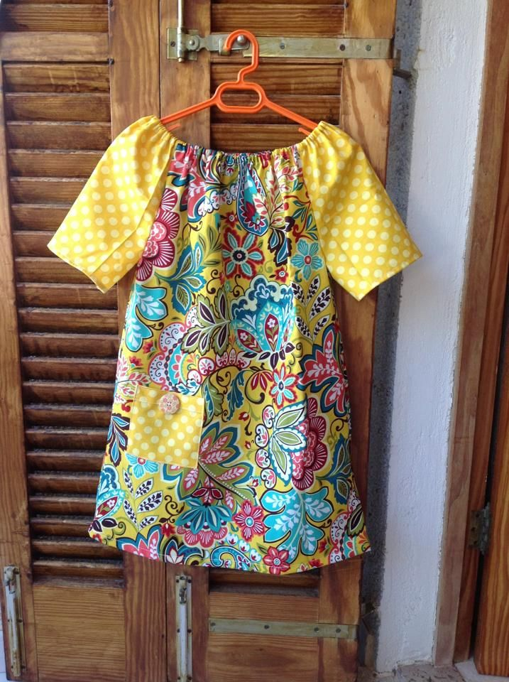 To Sew With Love: Peasant Dress/Tunic/Blouse Tutorial with FREE ...