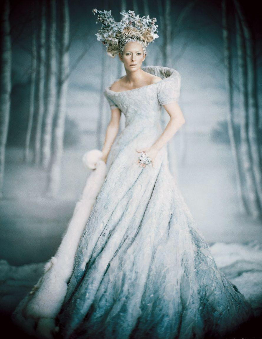 Top 10 Winter Wedding Dresses | Ice queen, Tilda swinton and Queens