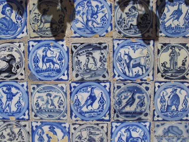 alcazar azulejos spain azulejos tiles pinterest