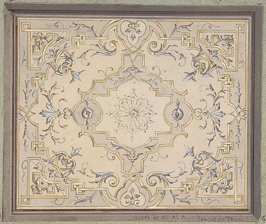 Design for a Study Ceiling Ceilings Pinterest Plafond, Peindre