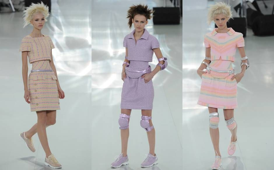 Surprise! The Chanel Haute-Couture Show Was A Load Of Old Crap