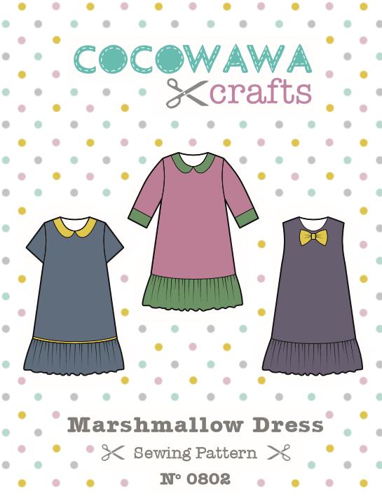 coco-wawa-crafts-marshmallow-dress-views-cover | Sew cool ...