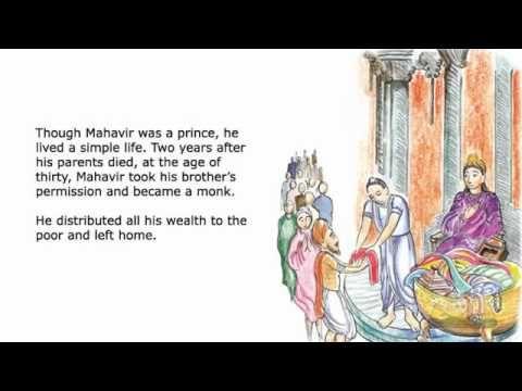 English Talking Book - Mahavir   Becoming a monk, Books
