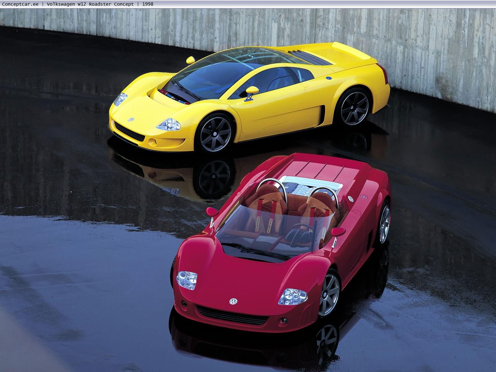 VW Roadster concept Toys for boys Pinterest