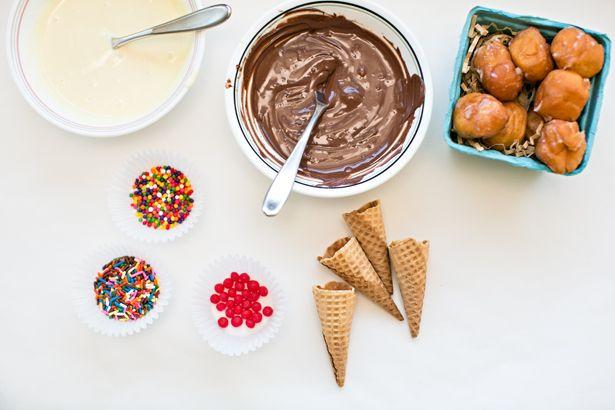 Mini donut ice cream cones bringjoyhome minidonuts recipe recipes mini donut ice cream cones bringjoyhome minidonuts recipe ccuart Gallery