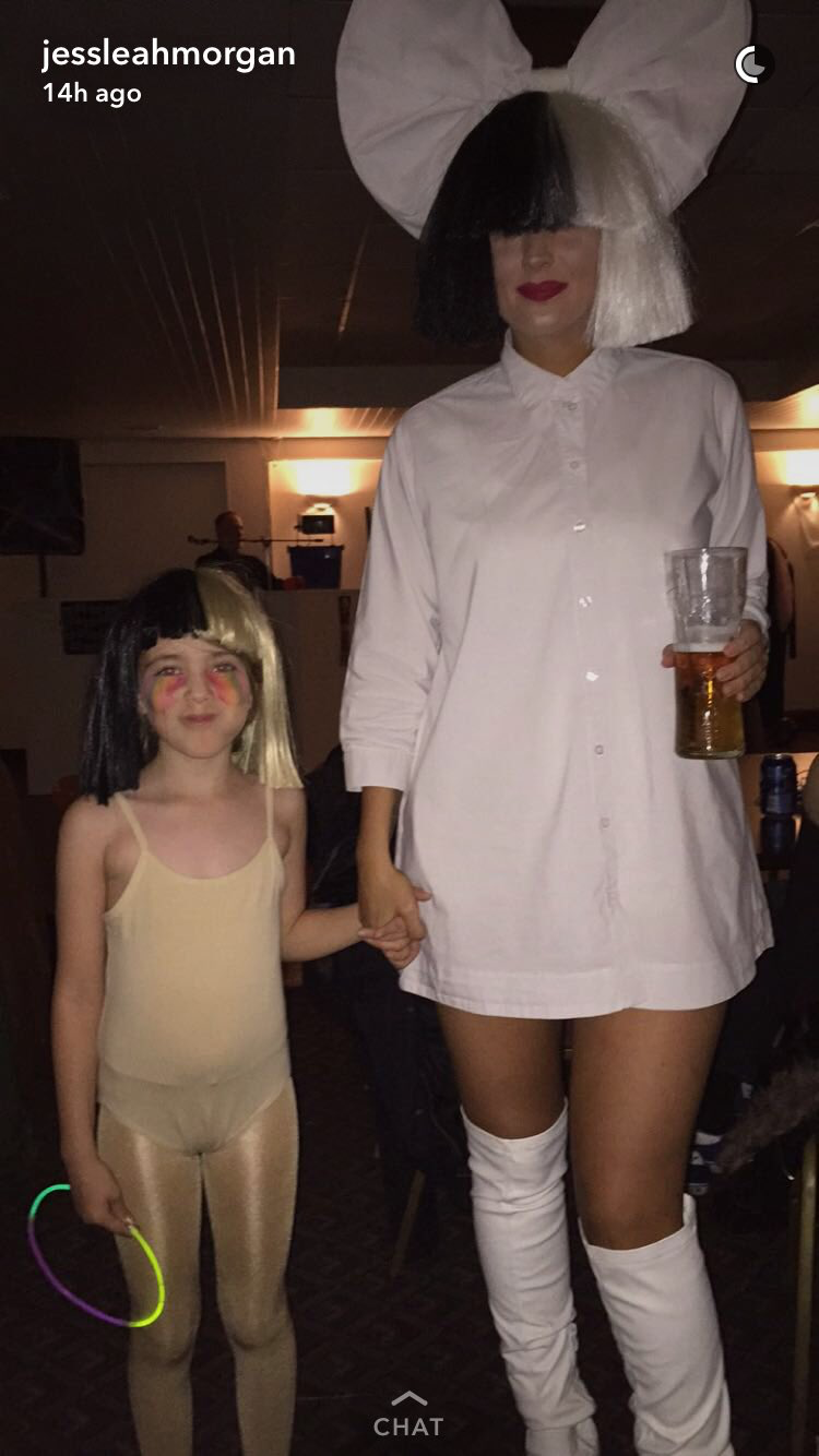 Sia + Maddie Sia Costume 912e6077ad82