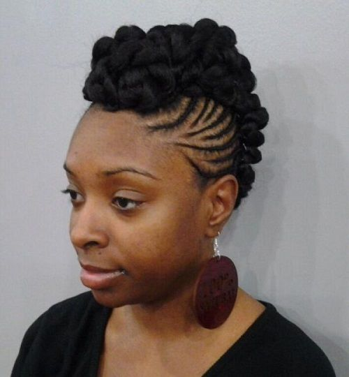 Natural Hairstyles For African American Women Updos Hairstyles For Africanamerican Women With Natural Hair