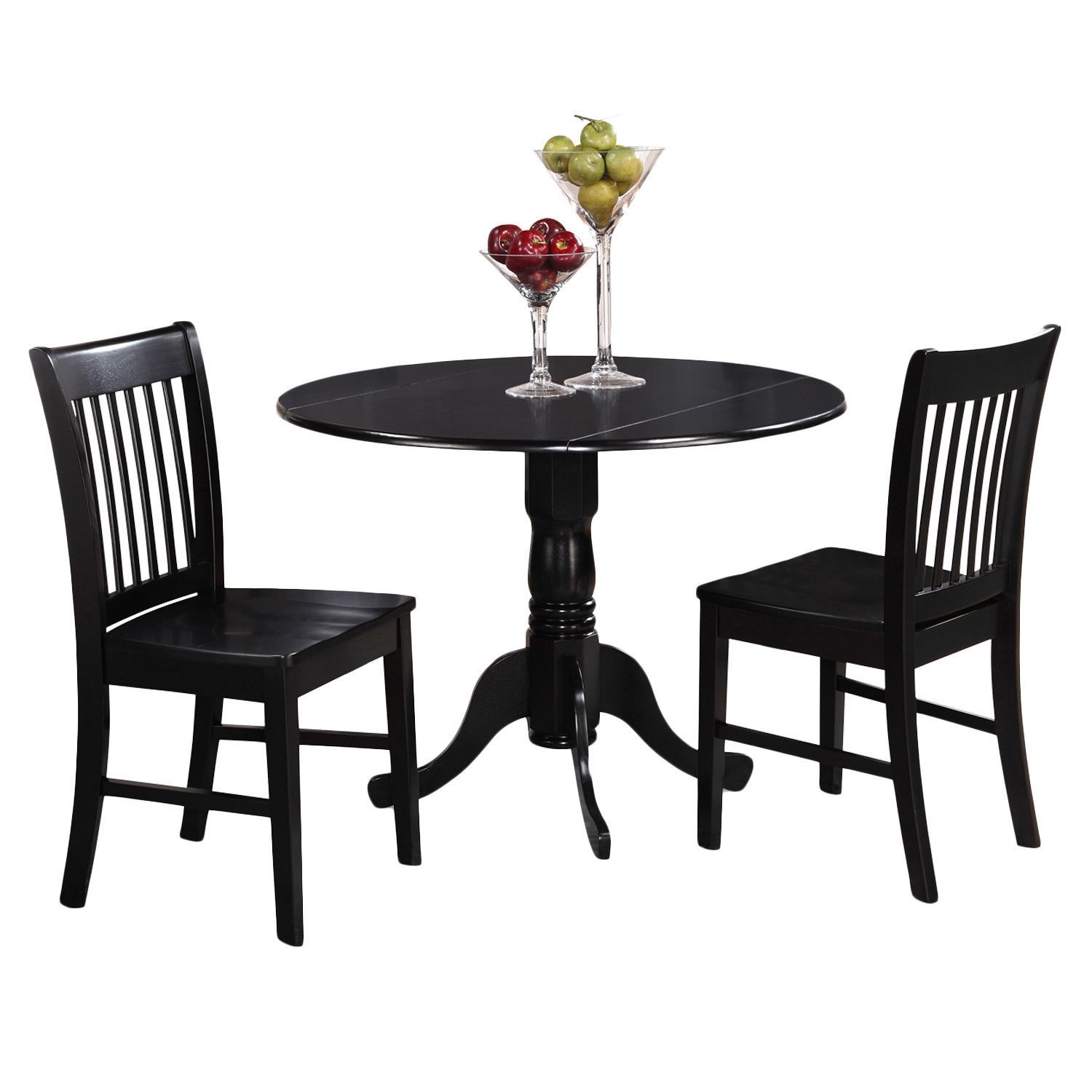 The Dublin Drop Leaf Kitchen Dining Tables Set Are Of Small Dimension,  Which Is Well
