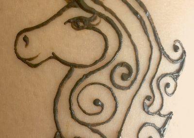 Cute Simple Unicorn Henna Henna Pinterest Henna Henna