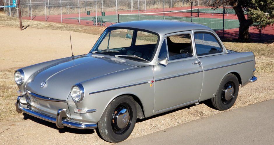 No Reserve 1964 Volkswagen Notchback 1500 Volkswagen Black Steel Wheels Classic Cars Online