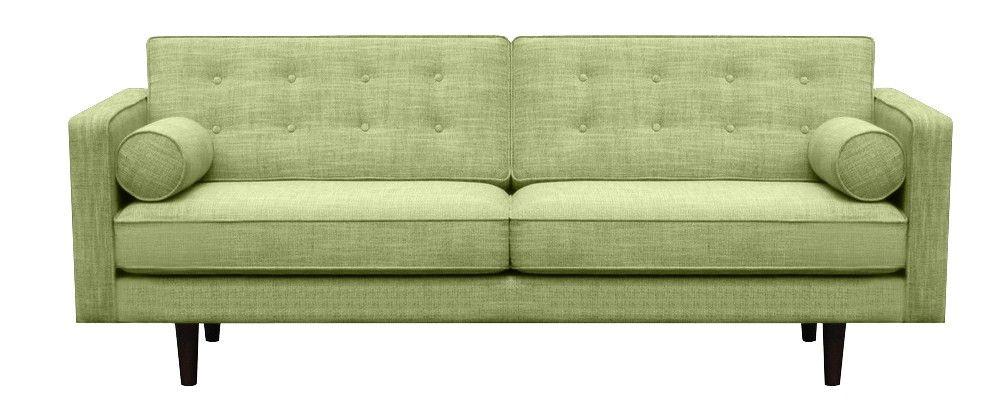 Benoit Sofi 3ja Saeta Graenn Sofa Fabric Sofa Design Canape Sofa