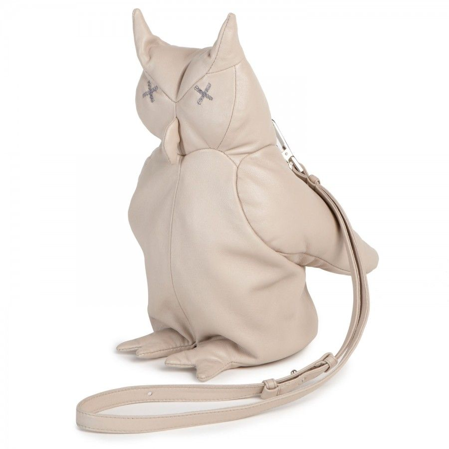 Christopher Raeburn Leather Owl Bag