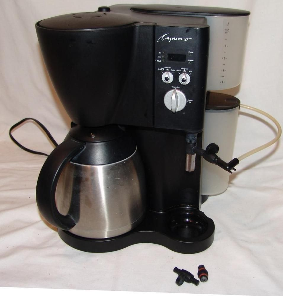 Jura Capresso Model 471 Cappuccino Maker 10 Cup Coffee Maker Coffee Maker Cappuccino Maker Capresso