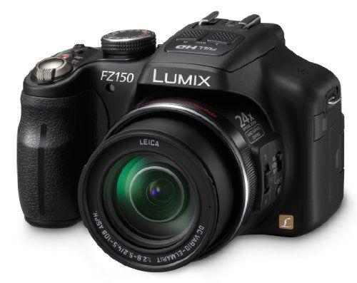 Panasonic Dmc Fz150k 12 1 Mp Digital Camera With Cmos Sensor And 24x Optical Zoom Black 449 00 Point And Shoot Camera Panasonic Lumix Digital Camera