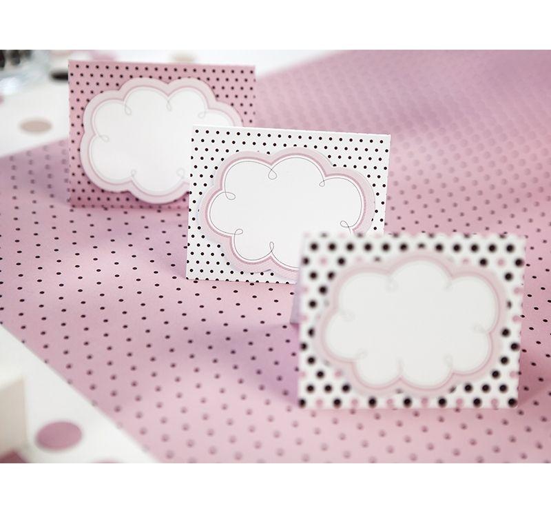 6 Etiquetas mesa rosas ideales para mesa dulce #eleganceparty