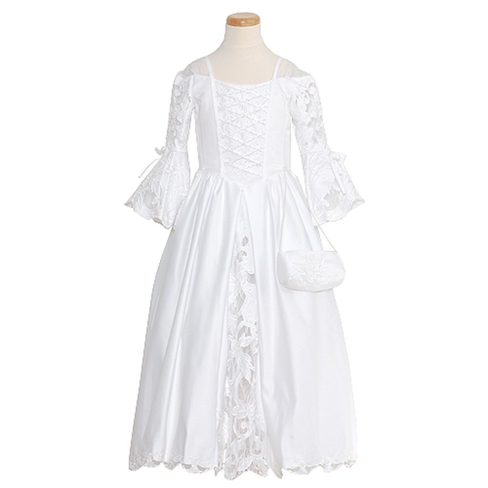 Lace dress for girl rain